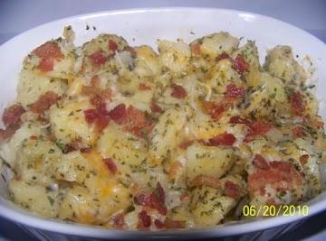 Steamed Potatoes Recipe