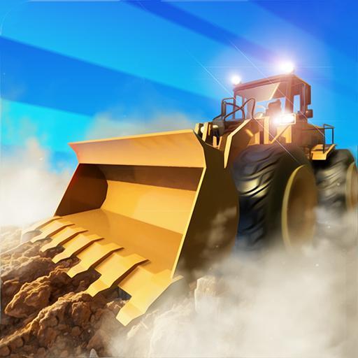 Road Construction Digger