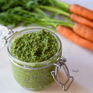 Carrot Top Mint Pesto Recipe