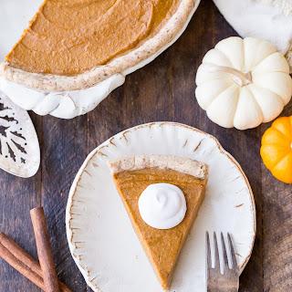 Paleo + Vegan Pumpkin Pie.