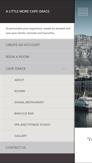 Cape Grace Hotel- screenshot