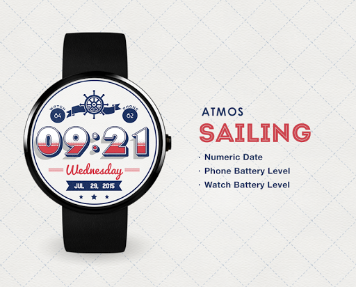 Sailing watchface by Atmos