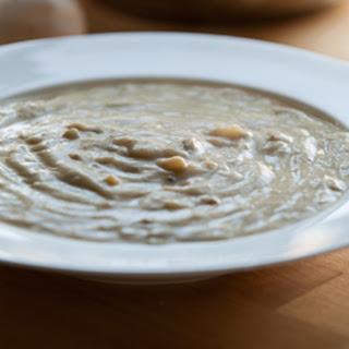 Vegan and Grain-free Cream of Mushroom Soup.