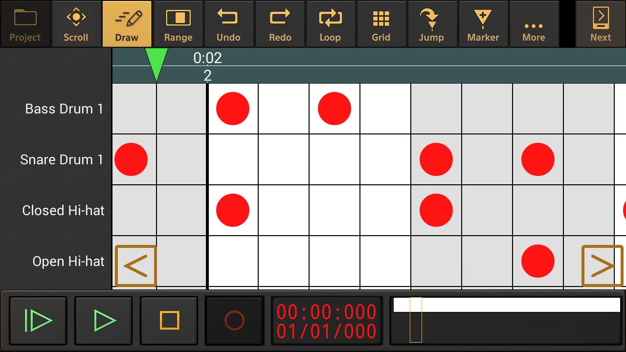 Audio Evolution Mobile Studio- screenshot