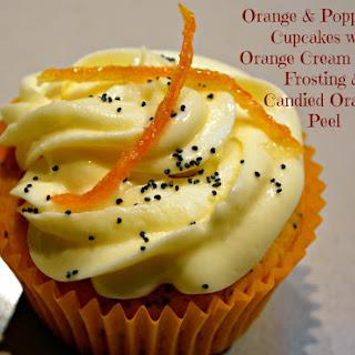 Orange & Poppy Seed Cupcakes