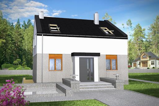 projekt Remek II bez garażu B