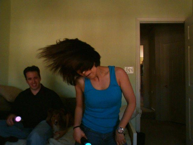 "Photo: Vicky dancing to Willow's ""Whip my Hair"""