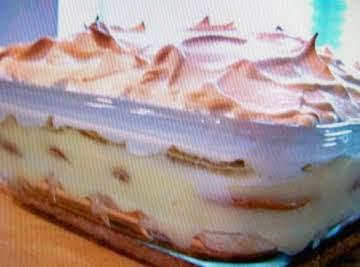 """Homemade """"Banana Pudding"""""""