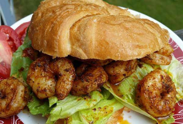 ~ Awesome Cajun Jumbo Shrimp Croissants ~ Recipe