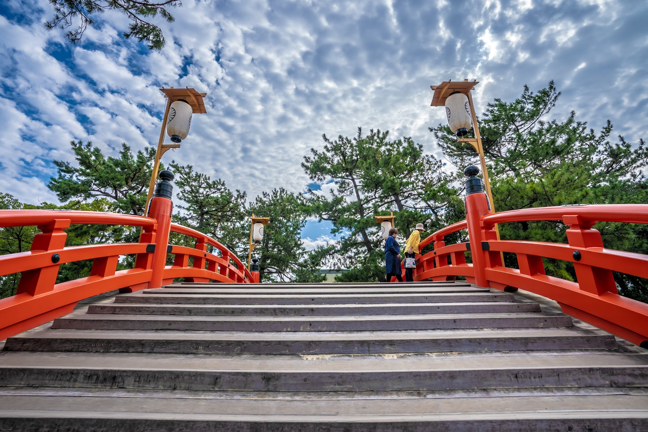 Sumiyoshi Taisha Shrine Sorihashi Bridge4