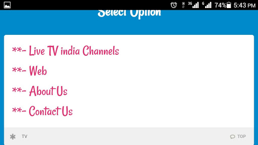 Live TV India Channels & Movie 2.0 screenshots 2