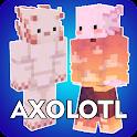 Axolotl Skins PE Minecraft icon