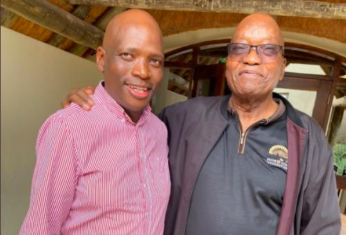 'Nkandla has officially become RET clique HQ': Hlaudi Motsoeneng and BLF join stream of Zuma's visitors