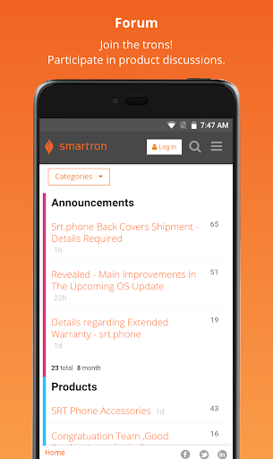 tronx  u2013 Smartron Experience  screenshots 3