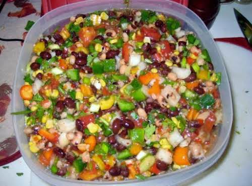 "Calico Salsa ""I usually serve it with tortilla chips but it is..."