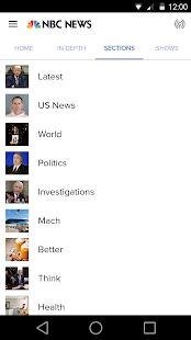 NBC News - náhled