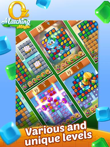 Matching Magic: Oz - Match 3 Jewel Puzzle Games screenshot 20