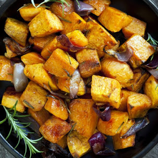 John's Rosemary Sweet Potatoes