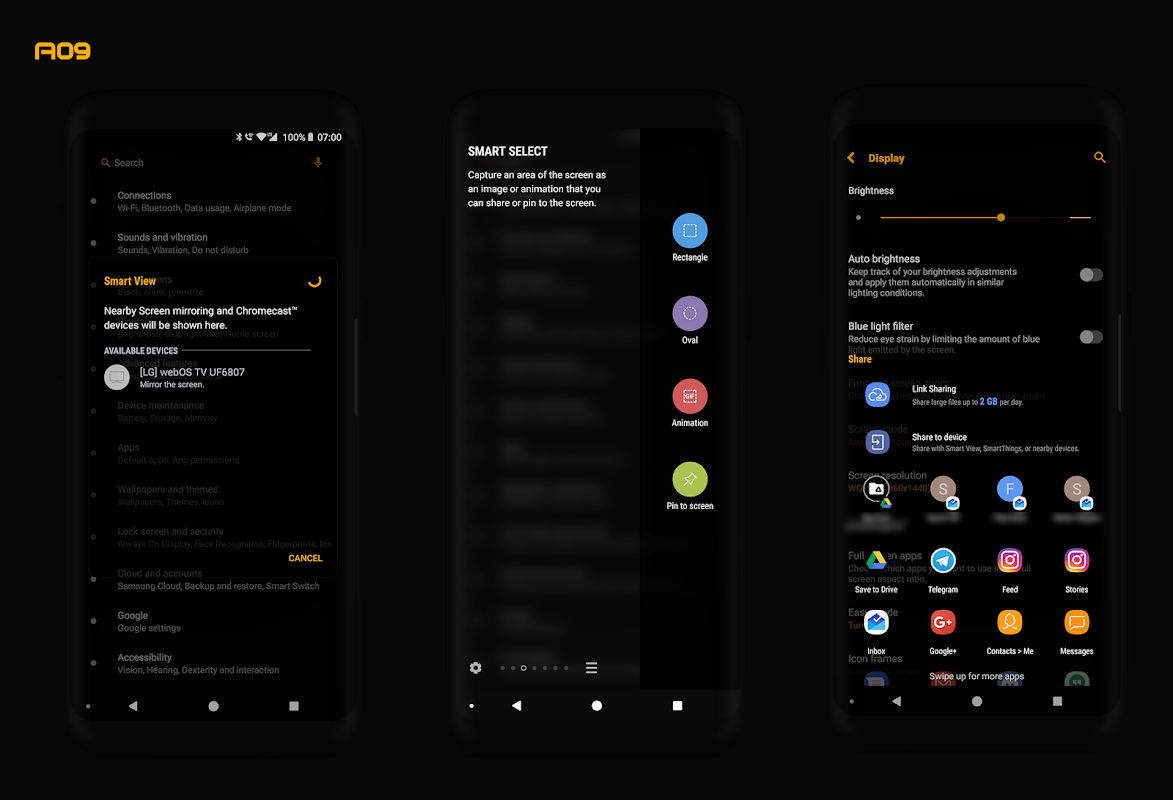 "PitchBlack S│Samsung Substratum Theme ""Oreo Only"" APK"