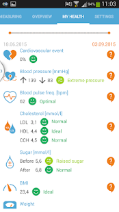 Health Diary- screenshot thumbnail
