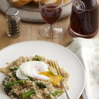 Asparagus and Egg Risotto
