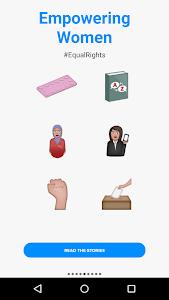 Refugee Emojis Keyboard screenshot 2
