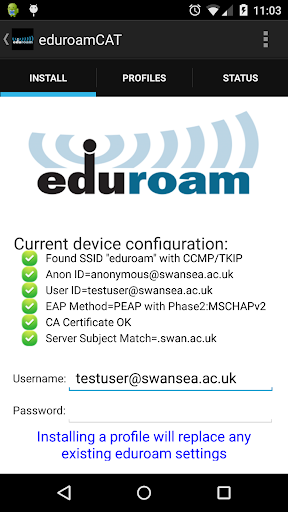 eduroam CAT 1.2.8 PC u7528 1