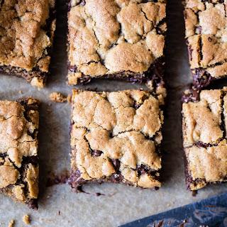 Healthy...ish Chocolate Chip Cookie Bars.