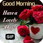 Morning Images Wishes Love Gif Android APK Download Free By NewLooks