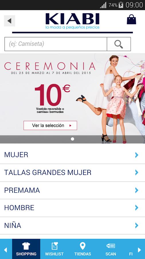 KIABI Español - screenshot