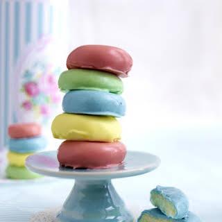 Rainbow Peppermint Patties.