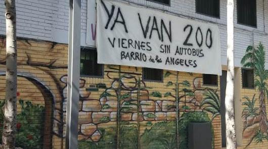El Barrio de los Ángeles y 220 viernes sin la 'Línea 7'