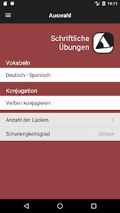 Spanisch: Verben - VerbForms Español Little – Apps bei Google Play