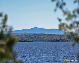 Photo: View of Mt. Mansfield, Grand Isle State Park