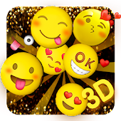 3D Happy Emoji Launcher  Theme