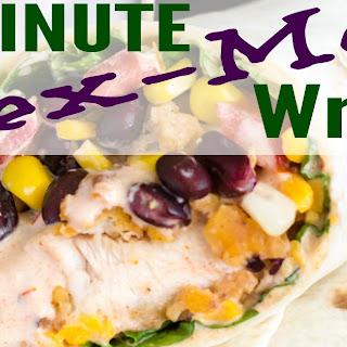 15 Minute Crispy Tex-Mex Chicken Wraps Recipe