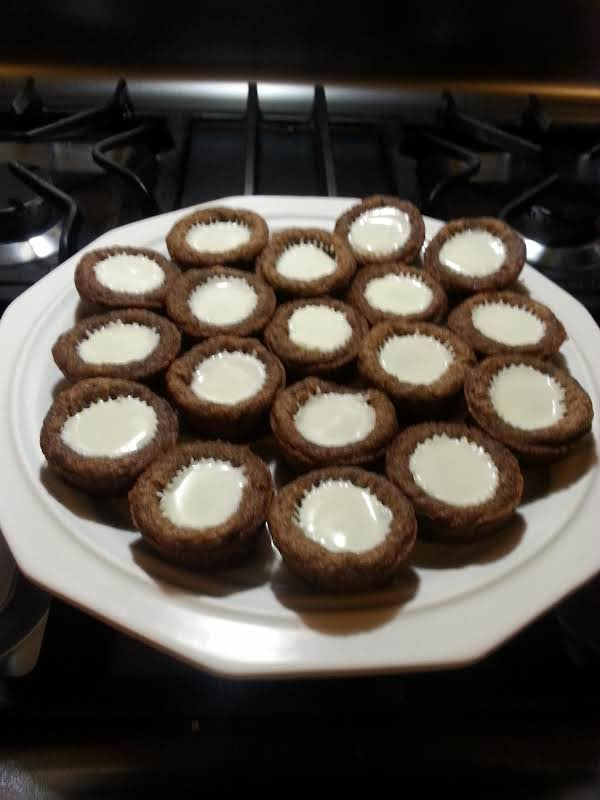 White Chocolate Mini Reese's Pb Cup Cookies