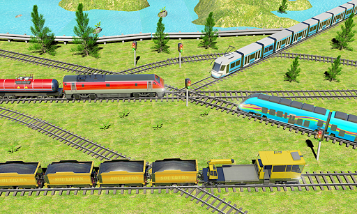 Indian Train City 2019 – Oil Trains Game Driving screenshots 1