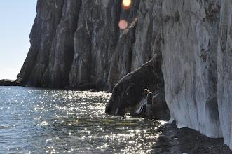 Photo: L'eau est froiiiiiide !