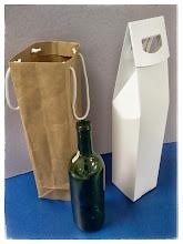 Photo: Caixa Especial para garrafa com alça + Sacola - Foto 3