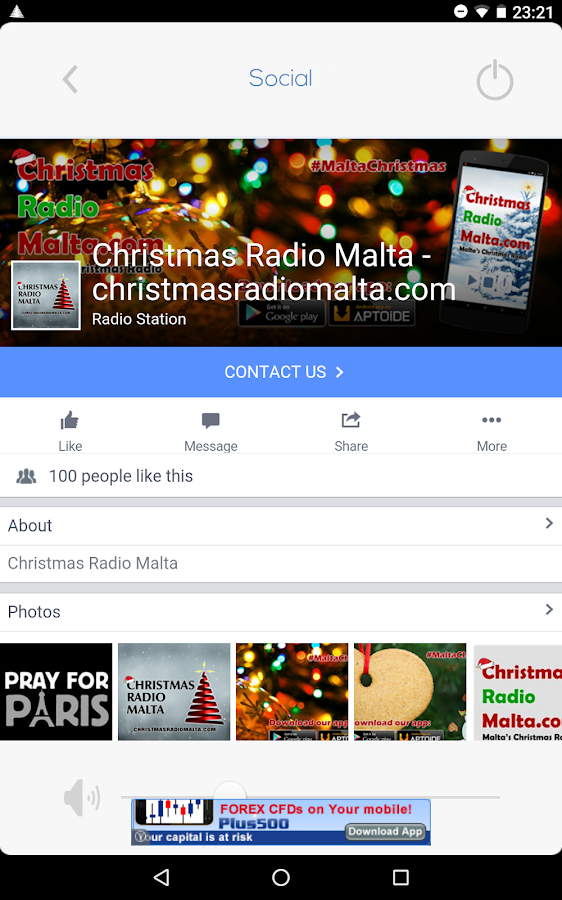 Christmas Radio Malta- screenshot