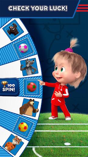 Masha and the Bear: Kids Football Games Cup 2018 1.2 screenshots 4
