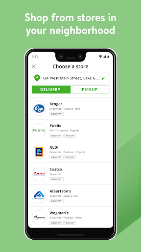 Screenshot for Instacart: Same-day grocery delivery in United States Play Store