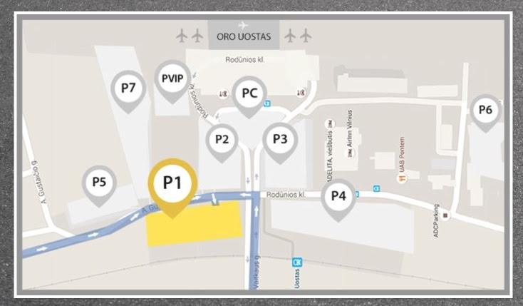парковки Unipark Вильнюс