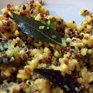 Pulihora (Lemon Quinoa/Rice)