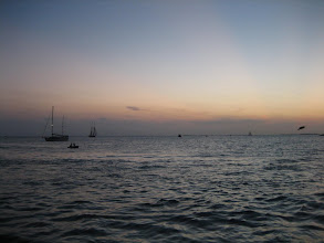 Photo: Key West sunset