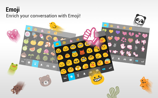 ZenUI Keyboard – Emoji, Theme screenshot 9