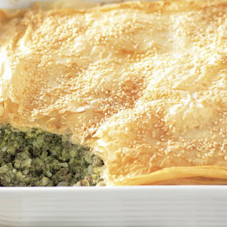 Lamb, Chard and Rice Pie
