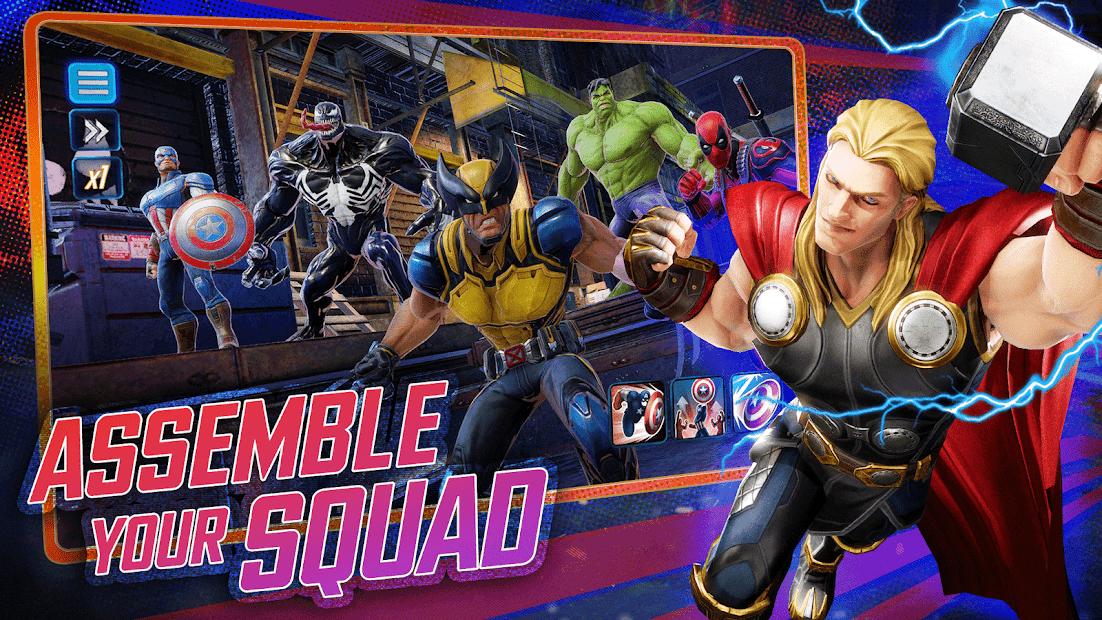 MARVEL Strike Force - Squad RPG Android App Screenshot