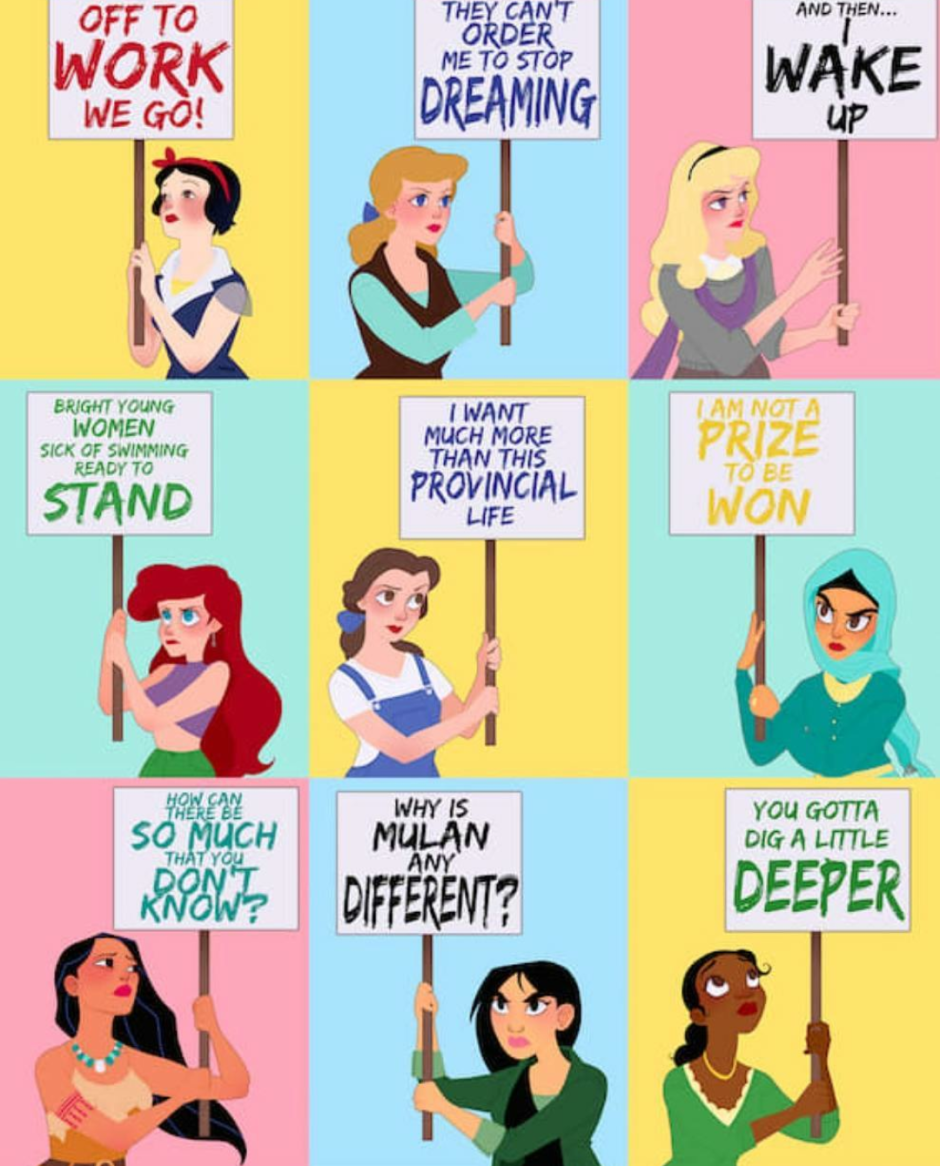 Are The Disney Princesses Feminists Her Campus